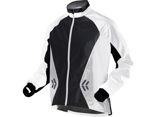 X-Bionic SphereWind Running Jacket Men White/Black